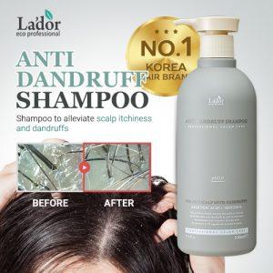 Lador shampoing antipelliculaire Maroc, Cheveux gras avec acide salicylique