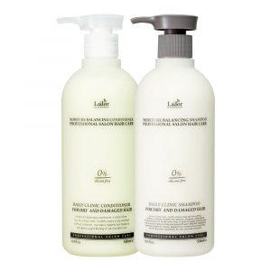 Shampoing cheveux secs abîmés sans silicone sans paraben